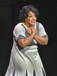 Marisha Wallace as Effie White. Photo by Karen Almond