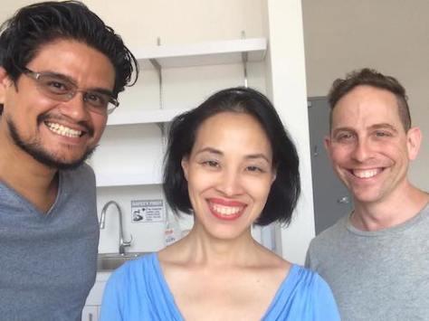 Geoffrey Guerrero, Lia Chang and Garth Kravits