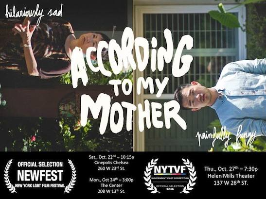 Daniel K. Isaac's 'According to My Mother' Receives New York Television Festival Best Drama Pilot and Best Actor Awards