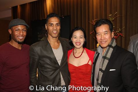 Emmanuel Brown, Taimak, Lia Chang, Peter Kwong. Photo by Garth Kravits