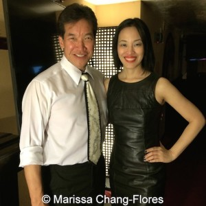 BIG TROUBLE IN LITTLE CHINA stars Peter Kwong and Lia Chang. Photo by Marissa Chang-Flores
