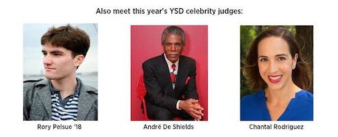 2016 Annual YSD/United Way Cookie Swap with YSD Celebrity Judges André De Shields, Rory Pelsue and Chantal Rodriguez on Dec. 15