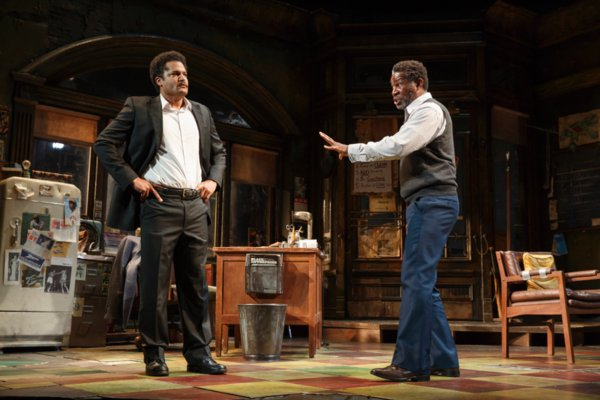 Photos: Harvy Blanks, Anthony Chisholm, Brandon Dirden, André Holland, Carra Patterson, Michael Potts, Keith Randolph Smith, Ray Anthony Thomas, John Douglas Thompson in MTC's Broadway Debut of August Wilson's JITNEY