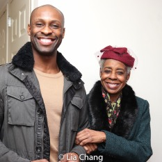 Taurean Everett and Marjorie Johnson. Photo by Lia Chang