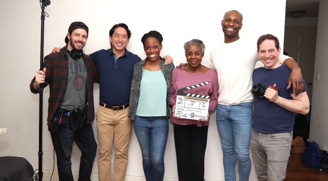 Behind the Scenes: CREAM & 2 SHUGAHS Starring Marjorie Johnson, Eric Elizaga, Kimberly Marable and Taurean Everett