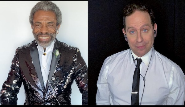 "Video: Yin & Yang, aka André De Shields and Garth Kravits, Cover ""Bring It On Home To Me"""