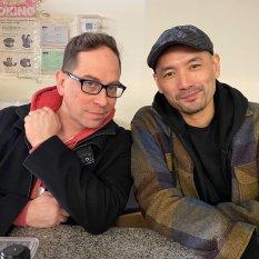 Garth Kravits and Adam Lim. Photo by Lia Chang