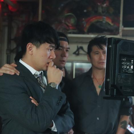 Ronny Chieng, Chen Xi Hao and Ken Lin. Photo by Lia Chang