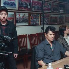 Cinematographer Jason Chew, Ken Lin. Photo by Lia Chang