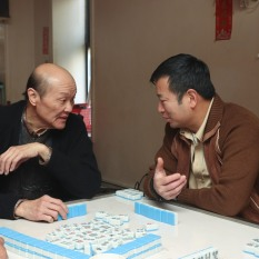 Henry Yuk and Michael Tow. Photo by Lia Chang