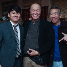 Ronny Chieng, Henry Yuk and Henry Chang. Photo by Lia Chang
