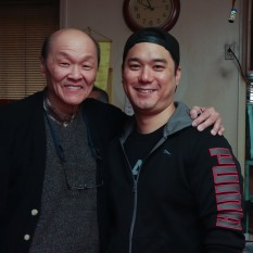 Henry Yuk and Chen Xi Hao. Photo by Lia Chang