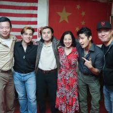 Michael Tow, Joseph M. Orlando, Simon Song, Lia Chang, Ken Lin and Chen Xi Hao. Photo by Lia Chang