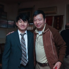 Ronny Chieng and Michael Tow. Photo by Lia Chang