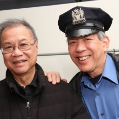 Wing Lee and Henry Chang. Photo by Lia Chang