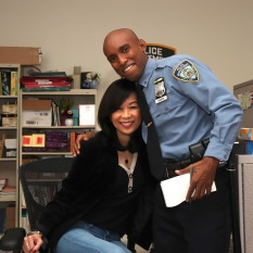 Rozina Leong and P.J. Max. Photo by Lia Chang