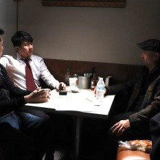 Chen Xi Hao, Ronny Chieng and Adam Lim. Photo by Lia Chang