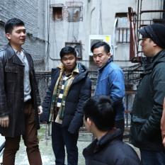 70s Throwback- Steven He, Wei Cong Zhou (Lucky), Norman Lam, Ian Woo (Jack Yu), Patrick Chen, John Bai. Photo by Lia Chang