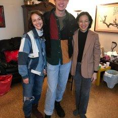 Areo Keller, Derek Kastner and Lia Chang