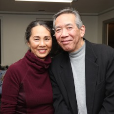 Karen Tsen Lee and Henry Chang. Photo by Lia Chang