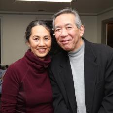 Karen Tsen Lee and Henry Chang. Photo by Lia Chang