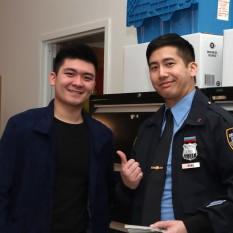 Steven He and Tim Liu. Photo by Lia Chang