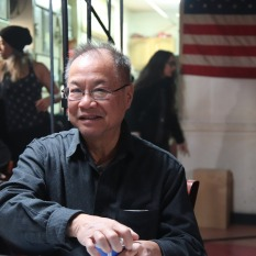 Production Designer Wing Lee. Photo by Lia Chang