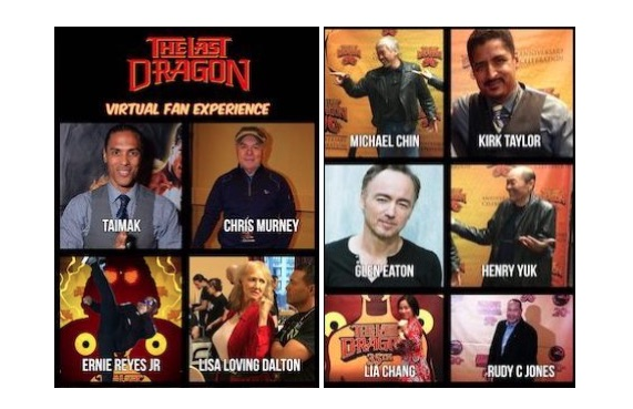 Nov. 7: UASE 2020, The Last Dragon Tribute and Daetrix/Wiarlawd Studio Present The Last Dragon 35th Anniversary Virtual Experience Featuring Taimak, Faith Prince, Christopher Murney, Ernie Reyes Jr., Glen Eaton, Lia Chang, Michael Chin, Lisa Loving Dalton, Kirk Taylor, Henry Yuk, Rudy C. Jones, Mike Starr and Louis Venosta