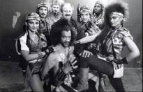 Janet Bloem, Julius Carry, David Claudio, Lisa Dalton, Kirk Taylor, Shonte, and André D. Brown in The Last Dragon (1985)