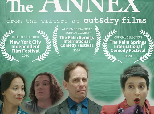 Garth Kravits and Evan Daves' Sketch Comedy Series THE ANNEX Wins 2020 Palm Springs International Comedy Festival Audience Favorite Sketch Comedy Award