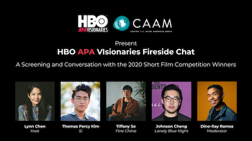 Feb. 4: HBO APA Visionaries Fireside Chat and Screening with 2020 HBO APA Visionaries Short Film Competition Winners