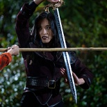 Yvonne Chapman as Zhilan in KUNG FU. Photo: Kailey Schwerman.The CW -- © 2021 The CW Network, LLC. All Rights Reserved