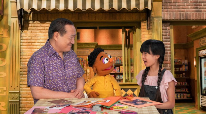 """Video: SESAME STREET: Proud of Your Eyes Song Featuring Alan Muraoka, Wes and Analyn – Part of""""ABCs of Racial Literacy"""""""